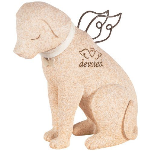 The Lakeside Collection Bereavement Faithful Angel Memory Memorial Dog Pet Figurine Statue ()