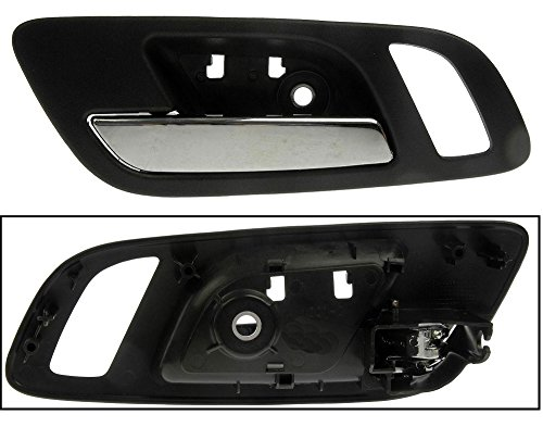 APDTY 92299 Interior Door Handle Front Left Driver-Side For 2007-2011 Chevy Silverado / Chevy Tahoe / Chevy Subruban / GMC Sierra / GMC Yukon (Replaces GM 15935951)