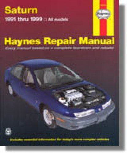 1993 Saturn S Series - NOS-H87010 Haynes 1991-1994 Saturn S-Series Auto Repair Manual