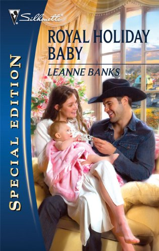 book cover of Royal Holiday Baby