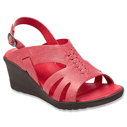 KEEN Women's KEEN Elizabeth Casual Shoe, Ribbon Red, 7 M US by Keen