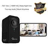 Home Security Camera, Nanny Cam for Baby/Kid/Pet/Porch 1080P 720° View 2 Lens Home Monitor Mount Anywhere Motion Detect Cam Night Vision 2Way Audio CloudStorage Remote Control with ios Android PC App