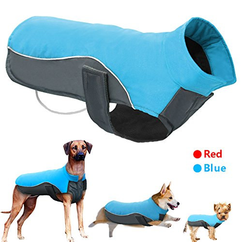 Didog Reflective Dog Winter Coat Sport Vest Jackets Snowsuit Apparel – 8 Sizes Available For Small Medium Large Dogs