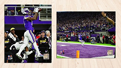 Minnesota Vikings Stefon Diggs Miracle In Minneapolis. NFC Divisional Play Off Game Winning Catch. 2 8x10 Photos,in One Package!. Run (mf) ()