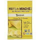 """Matt's Munchies Organic Banana 1 oz, 12 pack by Matt""""s Munchies"""