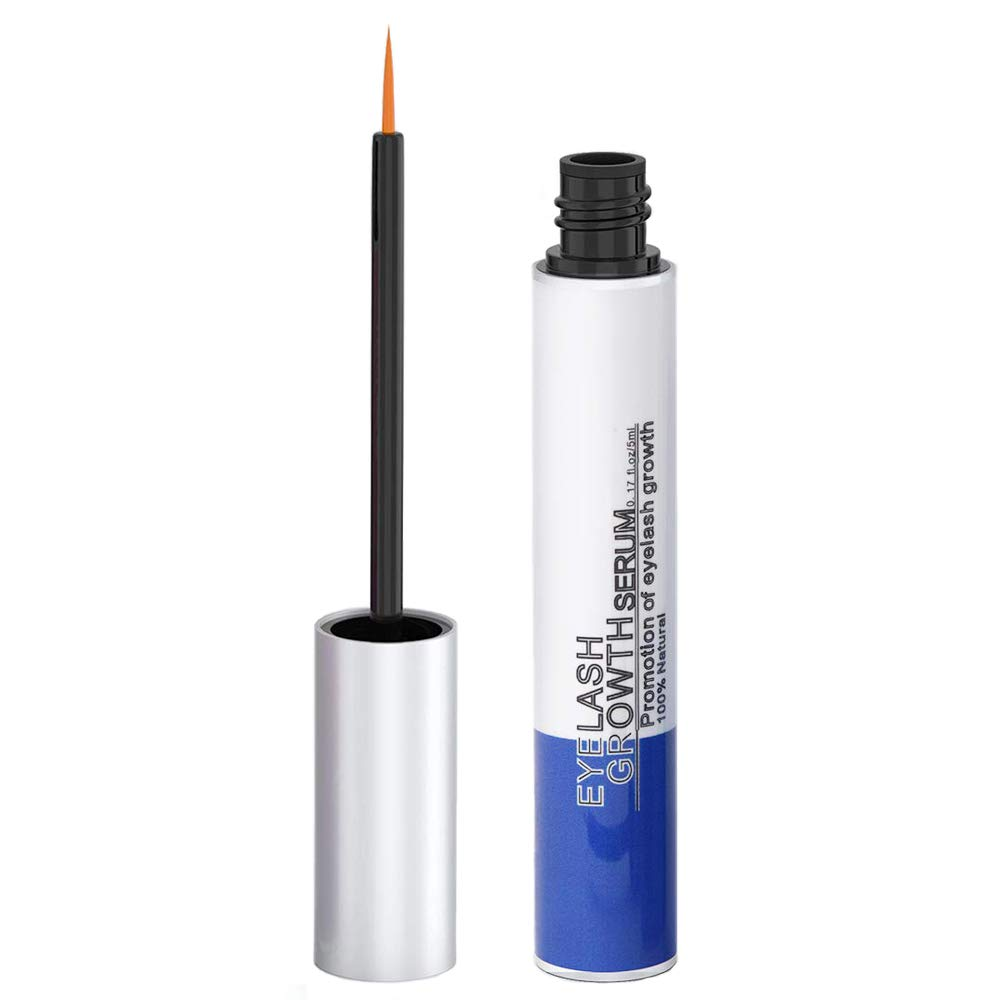 Eyelash Growth Serum, Rapid Lashes and Brows Growth Enhancer to Grow Thicker and Longer (5ML)
