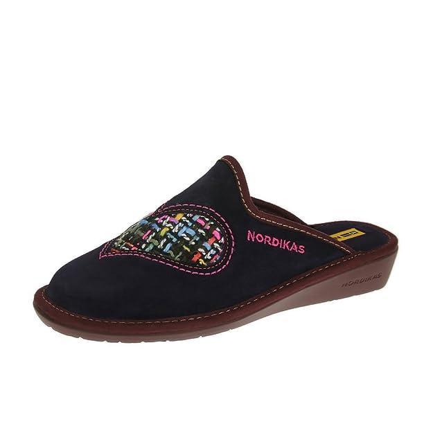 Nordikas Nordika para Mujer Zapatillas 8130/8 Plus Púrpura Orquidea: Amazon.es: Zapatos y complementos