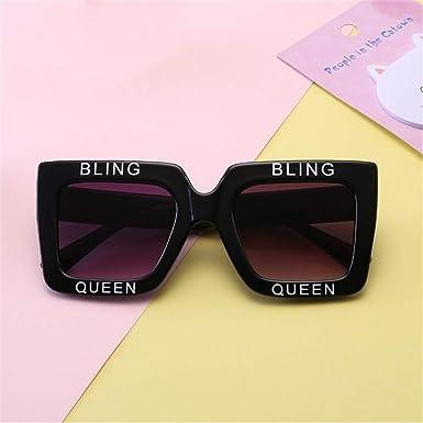 Wang-RX Gafas de sol para niños Gafas de sol cuadradas UV400 ...