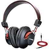Avantree Audition Super Comfortable Bluetooth Over Ear Headphones, Wireless and Wired Dual Mode, aptX High-Res Sound, NFC, 40h music time, lightweight