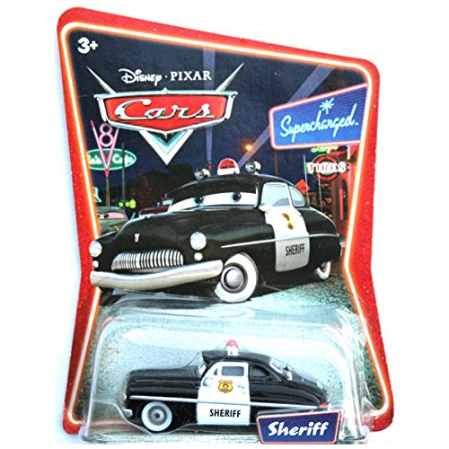 Sheriff Supercharged (Disney Pixar Cars - Sheriff - Supercharged by)