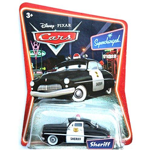 Disney Pixar Cars - Sheriff - Supercharged by Mattel - Mattel Supercharged