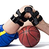 Orthomen Functional ACL PCL MCL Knee Brace for Ligament/Sports Injuries (XL/Right)