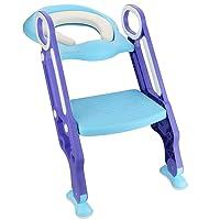 Deals on Luchild Potty Trainer Seat Adjustable Baby Potty Ladder Seat