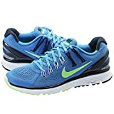 Nike Women's Blue/Reflect Silver-Army-Navy Lunareclipse +3 Running Shoe US 10.5