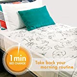 Conni Kids waterproof and washable bed pad for potty training and youth incontinence, Aussie Animals