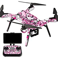Skin For 3DR Solo Drone – Butterflies | MightySkins Protective, Durable, and Unique Vinyl Decal wrap cover | Easy To Apply, Remove, and Change Styles | Made in the USA