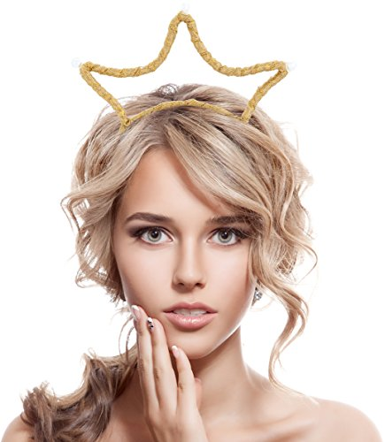 Crown Race Cutter - Women's Girls Crown Hairband for Party Masquerade Fancy Dress Costume (Crown)
