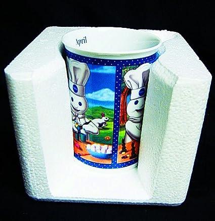 Amazon Com Vintage The Pillsbury Doughboy Danbury Mint Month Of