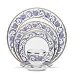 Noritake Sonnet in Blue 5-Piece Place Setting For Sale