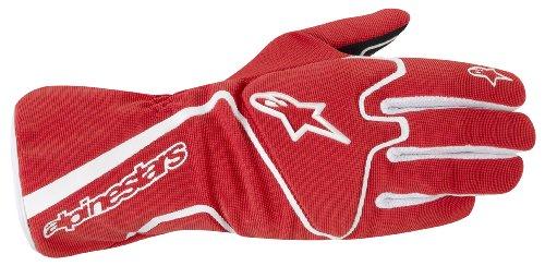 Alpinestars (3552012-32-S Red/White Small Tech 1-K Race Karting Gloves
