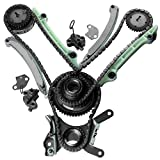 ECCPP TK5047L Timing Chain Kit For 03-08 Dodge Dakota Durango Ram Jeep 4.7L SOHC Timing Chain Kit NGC desgin(Check Fitment)