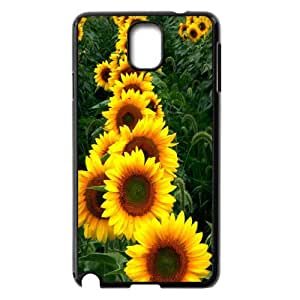CHENGUOHONG Phone CaseSunflower And Sun For Samsung Galaxy NOTE3 Case Cover -PATTERN-3