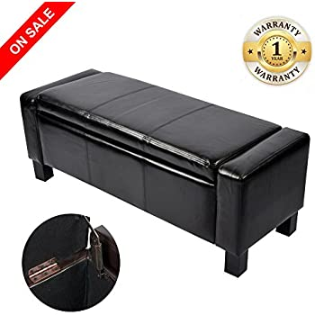 Amazon Com Homelegance Lift Cushioned Top Storage Bench