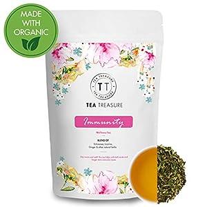 TeaTreasure – Immunity Booster Tea – 50 Gm – A Blend for Strengthening Immune System – Fights Cold and flu – Detox Tea