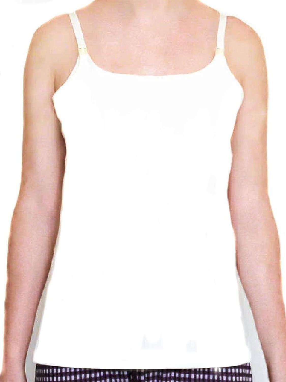 Albero Breastfeeding Shirts Organic Cotton Nursing Camisole Tops Bustier Bra