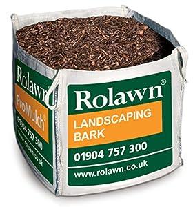 large bulk dumpy bag rolawn landscaping bark chippings. Black Bedroom Furniture Sets. Home Design Ideas