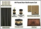 Park Designs Star Vine Shower Curtain and Bathroom Accessory Set - 19 Piece
