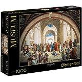 Clementoni 31404 - Puzzle Raffaello - Scuola di Atene, Collezione Museum, 1000 Pezzi