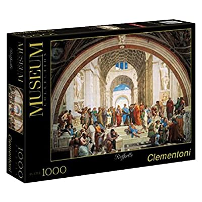 Clementoni 31404 Puzzle Raffaello Scuola Di Atene Collezione Museum 1000 Pezzi