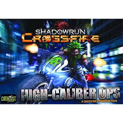 catalyst games Shadowrun Crossfire Mission 1 High Calib Board Game: Toys & Games