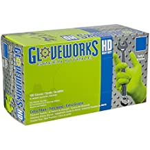AMMEX - GWGN44100 - Nitrile Gloves - Gloveworks - Disposable, Powder Free