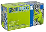 AMMEX - GWGN48100 - Nitrile Gloves - Gloveworks - Disposable, Powder Free, 8 mil, XLarge, Green (Case of 1000)