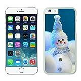 Iphone 6 cases,Appy little snowmen christmas snowman Iphone 6 (4.7)case White Cover