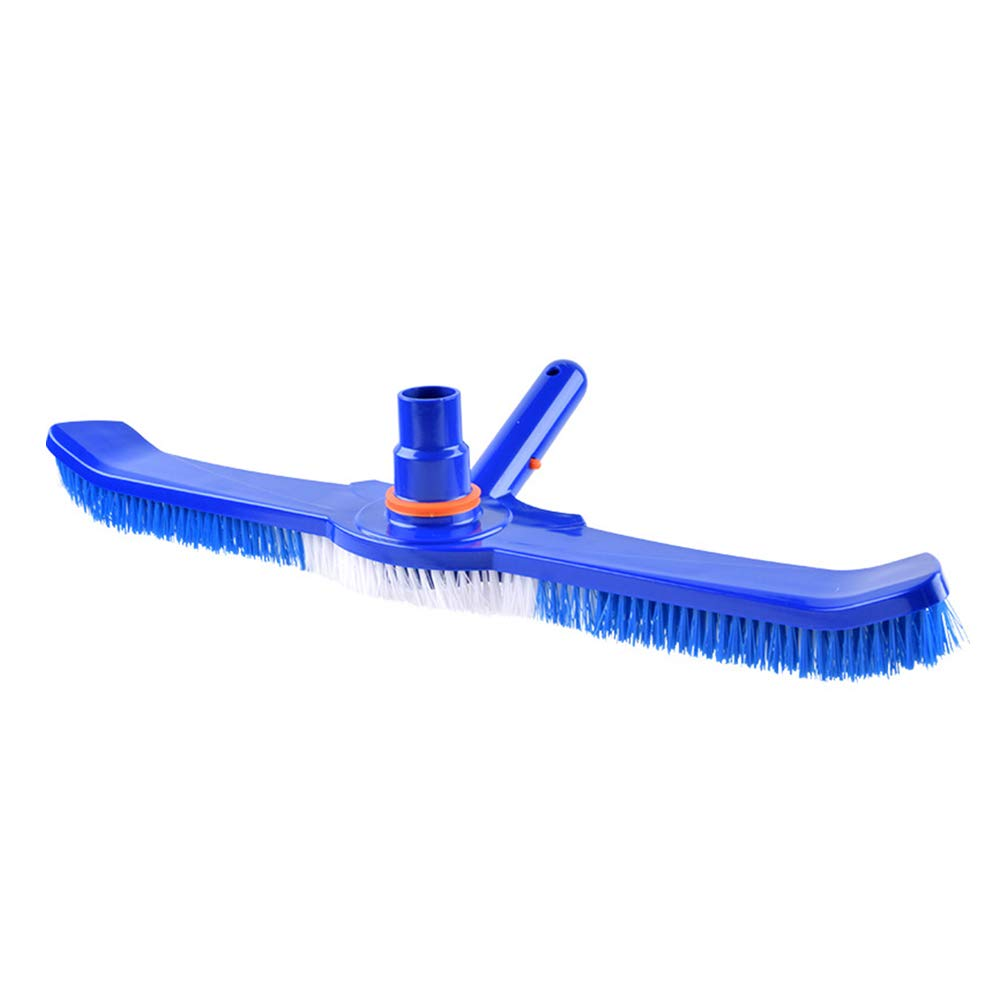 LYY Pool Cleaning Brush, 25 Inch Reinforced Swimming Pool Vacuum Head for Cleans Walls, Tiles and Floors Effortlessly, Sleek Design & Strong Bristles by LYY