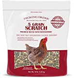 omega 3 chicken feed - Pecking Order Boonworm Treats, 5 Grain Scratch (12 lb)