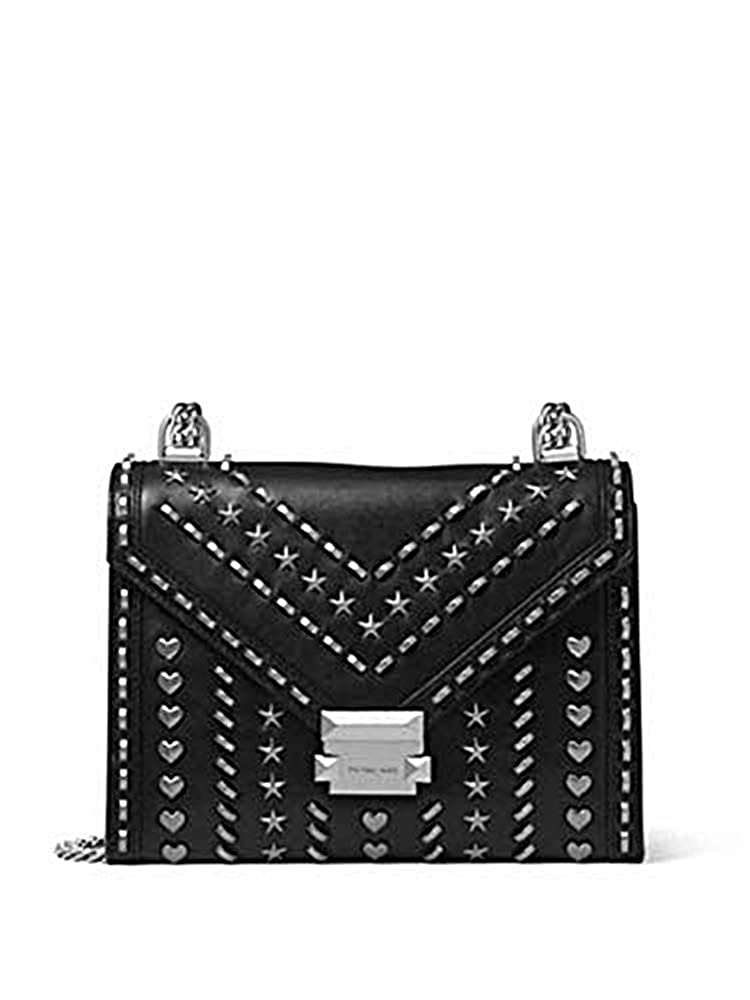 c9a7d4703126 Whitney Large Studded Leather Convertible Shoulder Bag  Amazon.co.uk  Shoes    Bags