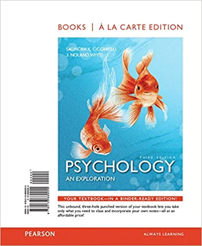 Psychology Book By Ciccarelli