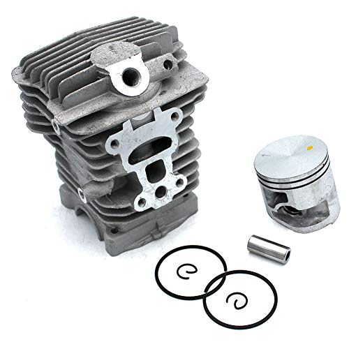 P SeekPro Cylinder Piston Assembly Kits 40mm for Stihl MS211 MS211C MS211 2-Mix MS211C-BE MS211C-BE Z MS211Z Chainsaw - Assembly Piston Oem