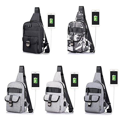 YYW Backpacks - Bolso mochila  para mujer 4