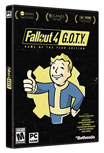 Amazon com: Fallout 4 Game of The Year Edition - PC [video game