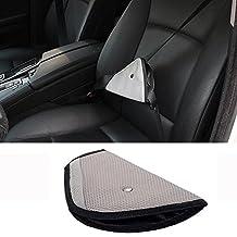 VIVISKY Car Child Safety Cover,Seat Belt Adjuster Harness Repositions Strap Adjuster Mash Pad Kids Seat Belt Seatbelt Clip Booster Adult Children Seat Belt Clips (GRAY )