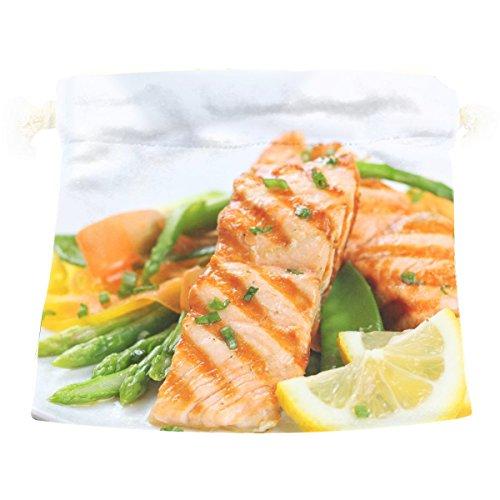 Fruit Vegetables Fish Garnish Lemon Food Cute Colorful Candy Gift Present Wrap Drawstring (Halloween Garnish Food)