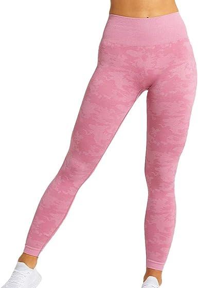 QZYT Pantalones De Yoga Pantalones De Yoga De Cintura Alta Mujeres Workout Sport Legging Fitness Leggings Medias: Amazon.es: Ropa y accesorios