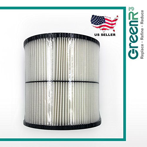 GreenR3 1-PACK replacement General Purpose Air Filters Vacuum Cleaners FOR Craftsman 17884 fits Craftsman 9-17921 9-17922 9-17923 9-17929 9-17935 9-17937 17920 17921 17922 17923 17929 17935 and more