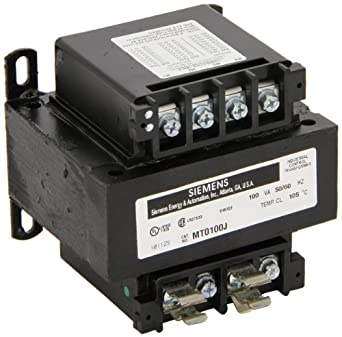 Siemens MT0100J Industrial Control Transformer, Domestic ...