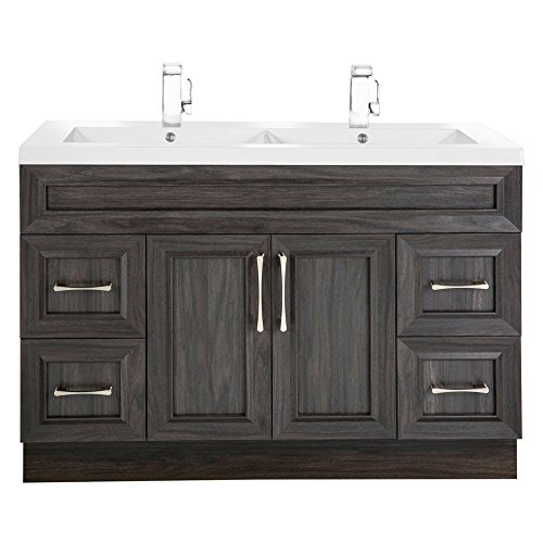 Cutler Kitchen & Bath Classic Transitional 48 in. Double Bathroom Vanity 48 Transitional Bathroom Vanity
